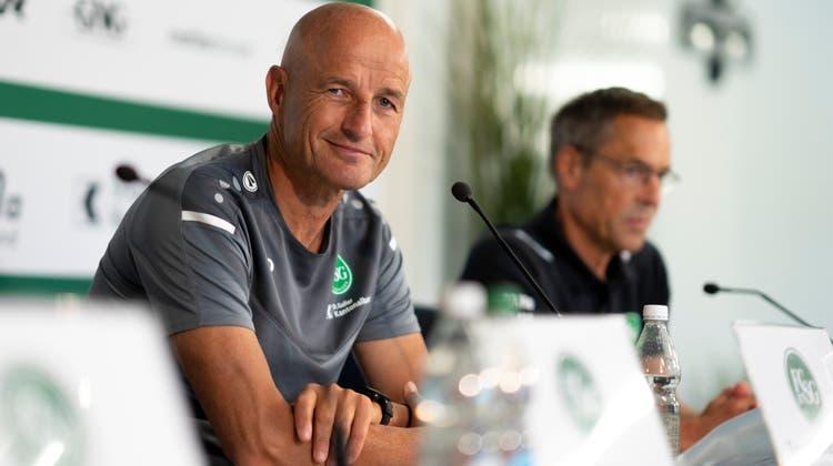 Neue Spielzeit, alter Optimismus: «Wir wollen mit drei Punkten in die Saison starten», sagt Trainer Peter Zeidler. (Bild: Claudio Thoma/Freshfocus)