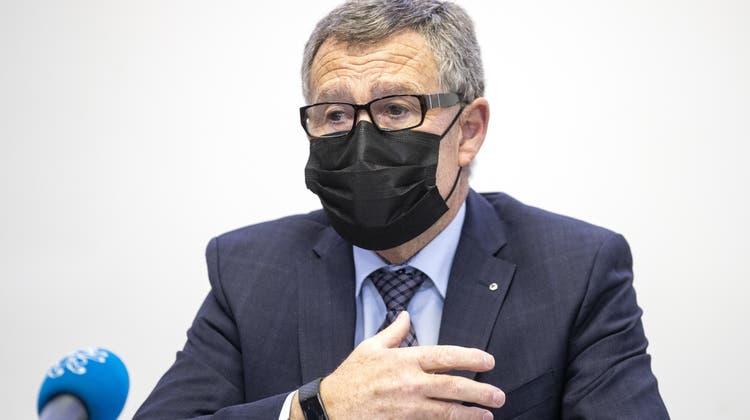 Der Zürcher Finanzdirektor Ernst Stocker zieht eine positive Bilanz zum Härtefallprogramm seines Kantons. (Keystone)