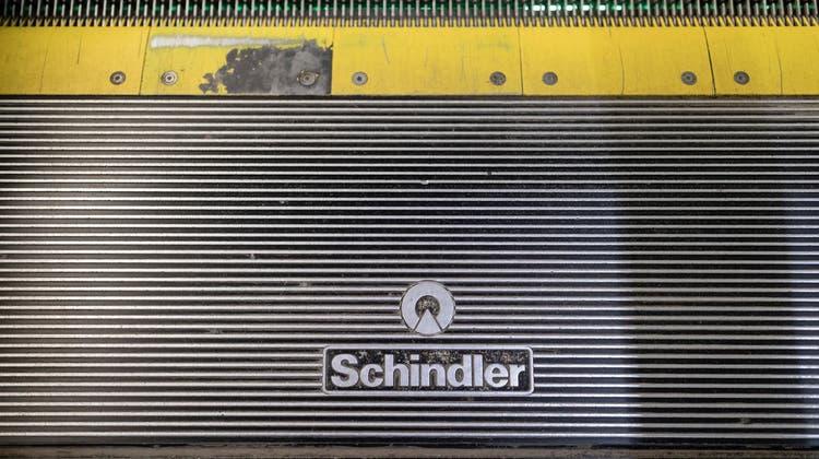Verzeichnete per Ende Juni einen deutlich höheren Auftragsbestand: Technologiekonzern Schindler. (Symbolbild) (Keystone)
