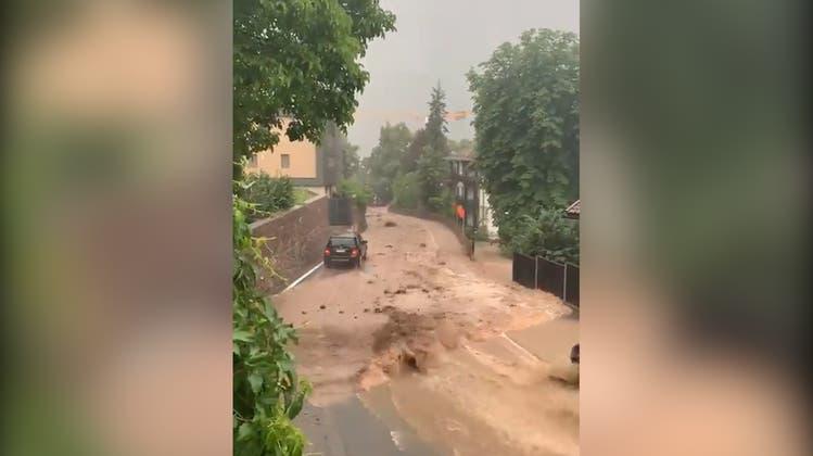 Unwetter und Überschwemmungen treffen auch das Südtirol