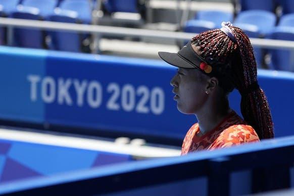 Bintang tenis Naomi Osaka berharap dapat memenangkan medali dan idola bagi banyak anak muda Jepang.