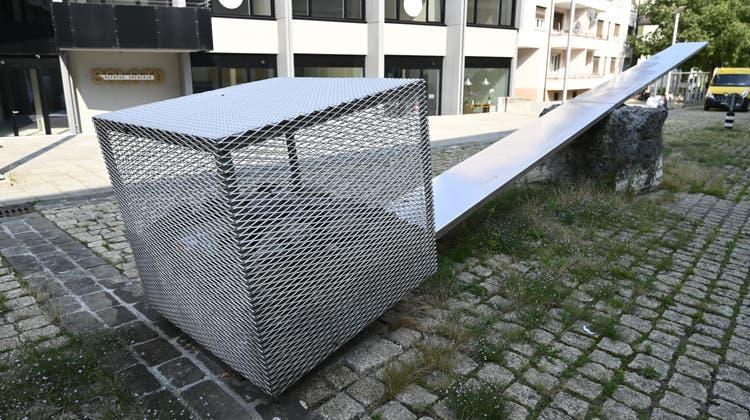 «RockBalance» von Gunter Frentzel, entstanden für die Expo 02. (Oliver Menge)