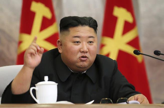 Hat 6000 Profi-Hacker auf seiner Lohnliste: Nordkoreas Machthaber Kim Jong Un.