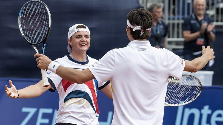 Casper Ruud gewinnt nach dem Turnier in Genf auch die Swiss Open in Gstaad. (Keystone)