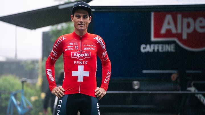 Der Aargauer Radprofi Silvan Dillier während der Tour de France (Alpecin-Fenix)