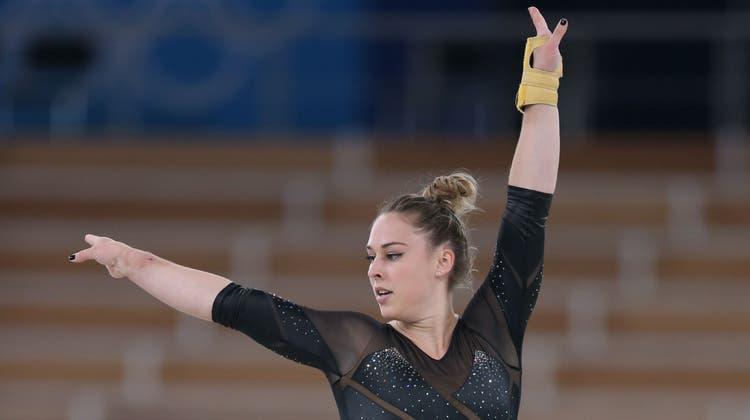 Giulia Steingruber verpasst in ihrer Paradedisziplin haarscharf den Sprung-Final. (Freshfocus / Thomas Schreyer)