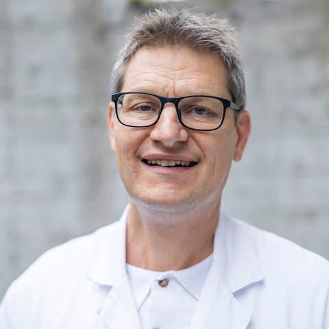 Christoph Fux, Chefarzt Infektiologie und Spitalhygiene am KSA. Aufgenommen am (Oktober 2020)