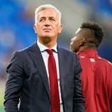 Ein enttäuschter Nati-Trainer: Vladimir Petkovic nach dem EM-Aus im Penalty-Schiessen gegen Spanien. (Claudio Thoma/Freshfocus)