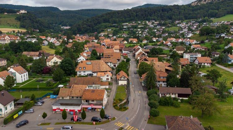 Mehrere Etappen umfasst die Sanierung der Hauptstrasse Nord. Zudem wird der Lostorferbach Hochwassersicher gemacht. (Patrik Lüthy)