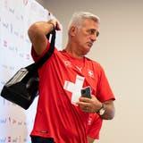 Ein Abgang für immer? Die Anzeichen verdichten sich, dass Vladimir Petkovic nicht mehr lange Schweizer Nationaltrainer ist. (Urs Lindt / freshfocus)