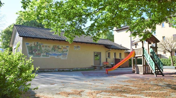 Der Kindergarten «In der Lachen» wird frühestens ab Herbst 2026 als Neubau viel mehr Platz bieten. (Archivbild: Oliver Graf (22. April 2020))
