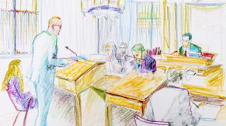 StaatsanwaltUlrich Krättli hatte eine Verwahrung von Brian K. gefordert. (Archivbild) (Keystone)
