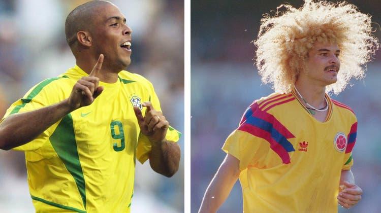 Stars und Sternstunden in Wettingen: Ronaldo und Valderrama werden dort erwartet. (Getty Images)