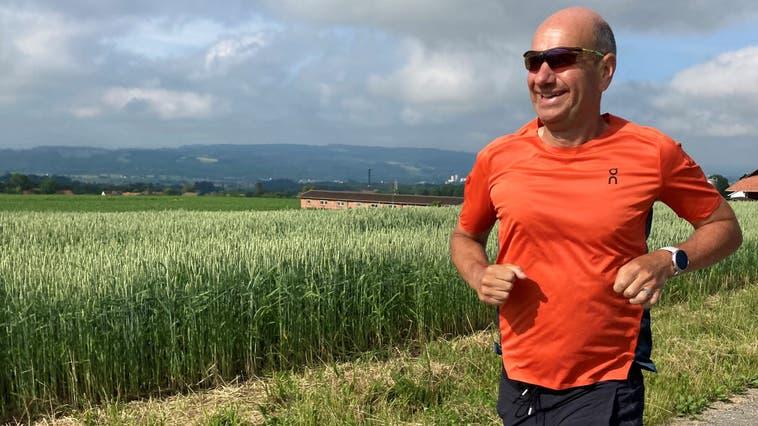 Patrik Hegelbachbeim Training. (zvg)