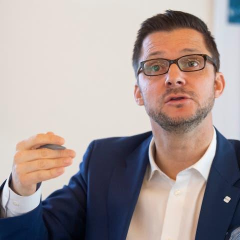 Beat Bechtold, Direktor der Aargauischen Industrie- und Handelskammer AIHK.