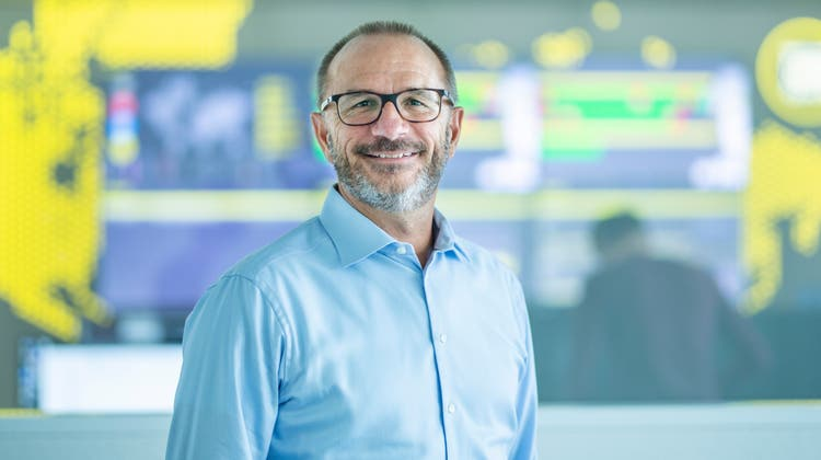 Führt das grösste reine Cyber-Security-Unternehmen in der Schweiz: Thomas Meier, 52, im Infoguard-Hauptquartier in Baar. (Bild: Jan Pegoraro (28. Juli 2021))