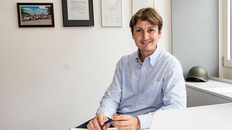 Gründer und Herausgeber von Prime News: Christian Keller. (Nicole Nars-Zimmer)