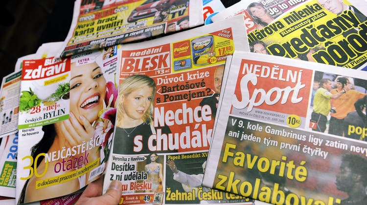 Ringier und Axel Springer gründeten 2010 das Joint Venture Ringier Axel Springer Media AG und brachten ihre Geschäfte aus Osteuropa ein. (Keystone)