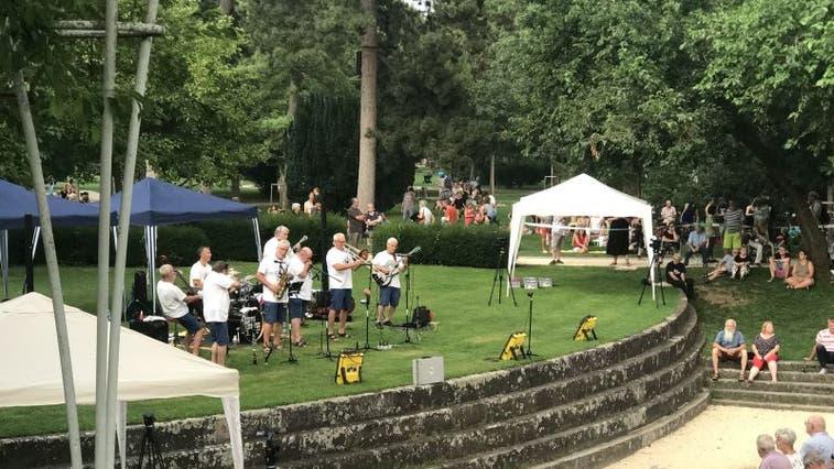 Hier finden die Konzerte statt: Auf der kleinen Waldbühne im Kannenfeldpark. (Bild: zVg / Archiv)