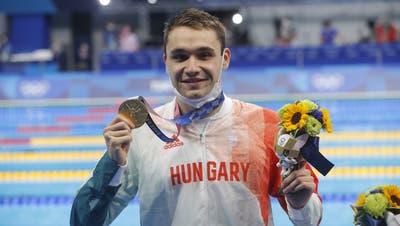 Gerissene Schwimmhose verhindert Weltrekord ++ Silber-Gewinner Flückigerwieder in der Schweiz ++ Bencic /Golubic erreichen Halbfinal