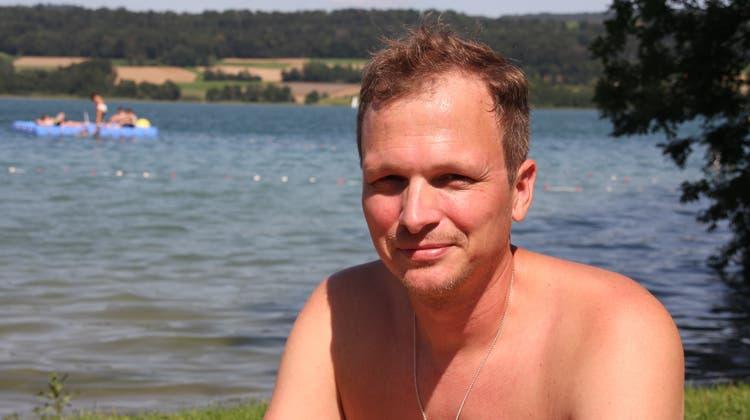 Bleibt mit den Kindern gerne im Seetal: Dennis Siegenthaler. (Daniel Vizentini)