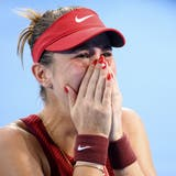 18.02 Uhr: Mit dem Finaleinzug im Einzel sichert sich Belinda Bencic die erste Medaille bei den Olympischen Spielen. (Laurent Gillieron / KEYSTONE)