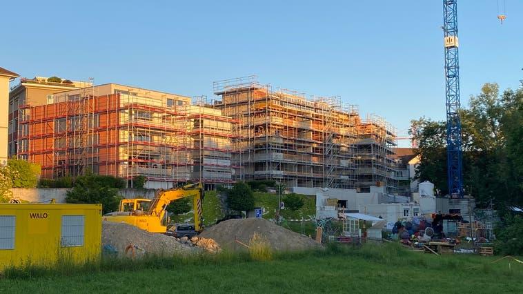 Eines der vielen Bauprojekte in Wohlen: die Überbauung am Bärengässli. (Marc Ribolla (13.6.2021))