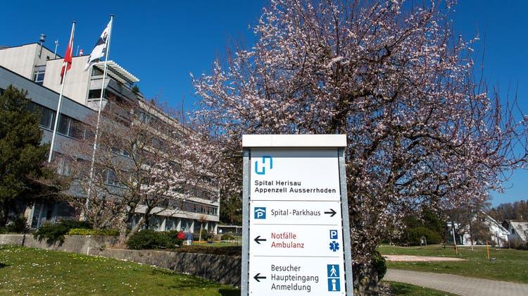 Das Spital Herisau hat für die Notfallversorgung in Ausserrhoden die grösste Bedeutung. (Bild: Michel Canonica)