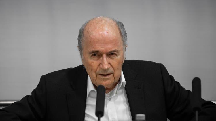 Das Verfahren gegen den ehemaligen Fifa-Präsidenten wird teilweise eingestellt. (Archivbild) (Keystone)