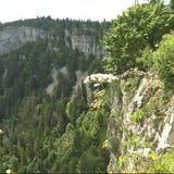 Der Bettlachstock, hier die Sicht vom Bettlachstock Richtung Wandfluh, wird als Welt-Naturerbe ausgezeichnet. (Andreas Toggweiler)