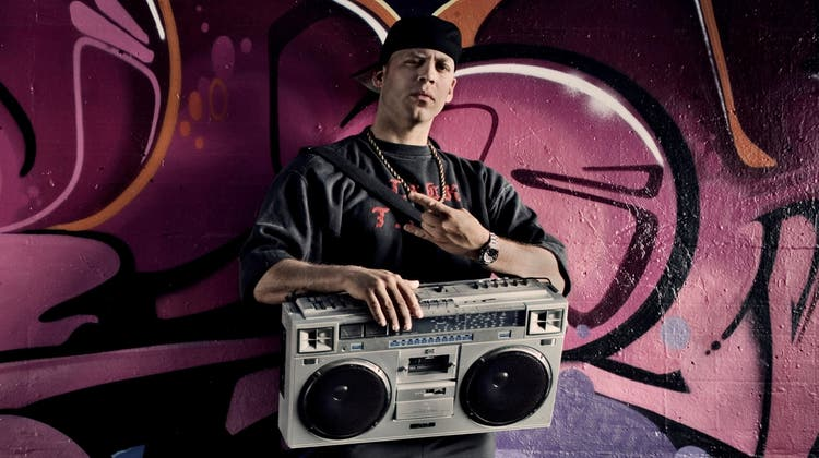 E.K.Rist ein doppelter Rap-Pionier in der Schweiz. Und er rappt immer noch. Immer noch sehr gut. (Bild: Susu Flash)