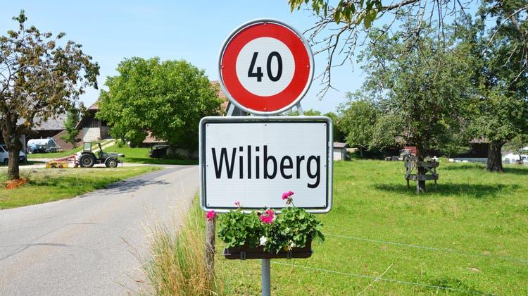 In Wiliberg ist auch das Tempo etwas gemächlicher signalisiert. (Ilir Pinto)