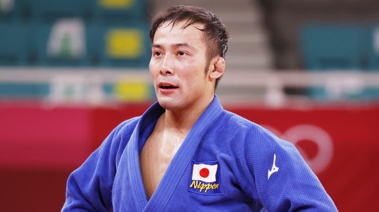Judoka Naohisa Takatoholte für Japan eine Goldmedaille. (Jeon Heon-Kyun / EPA)