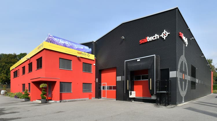 Die saltech AG: Im Herbst 2020 beschäftigte das Unternehmen an seinen Standorten in Däniken und Dulliken rund 60 Mitarbeitende. Diese Stellen wollte man nach der Aufhebung der Nachlassstundung auf 80 ausbauen. (Bruno Kissling (Archiv))