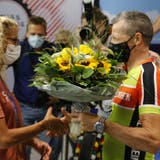 Jolanda Neff wird von den Mitgliedern des RV Altenrhein herzlich willkommen geheissen. (Bild: Rudolf Hirtl)