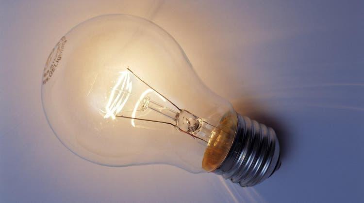 Edison «erfand» 1879 die Glühbirne. Kein Geistesblitz, sondern hartnäckiges Testen und Ausprobieren. (Peter Wuermli/Keystone)