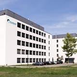 Der Verwaltungsrat von Polyphor prüft sämtliche Optionen für die Zukunft der Biotechfirma mit Sitz in Allschwil. (Georgios Kefalas / Keystone)