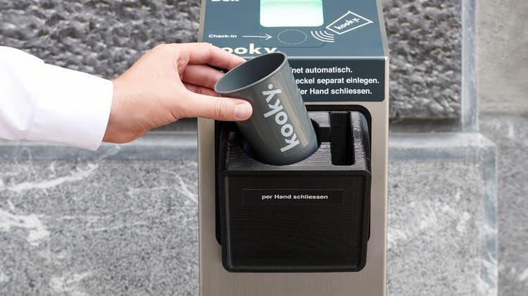 Die SBB haben bereits rund zwanzigKooky-Boxen an den Bahnhöfen Basel und Zürich installiert. (Pascale Weber Photography / Kooky)