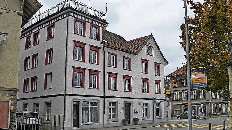 Die Liegenschaft «zur Alten Post» wurde sanft renoviert. (Bild: vdl)