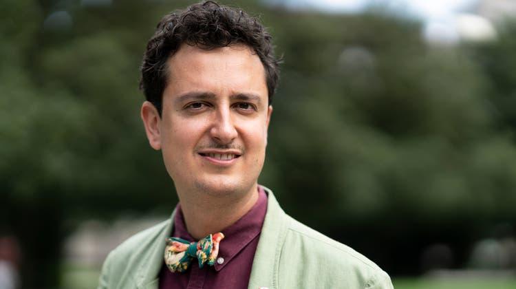 Nicola Forster: Präsident der Schweizerischen Gemeinnützige Gesellschaft (SGG) und Politiker für die Grünliberale Partei. (Claudio Thoma)