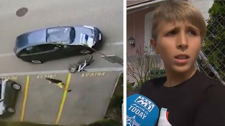 Nach Streit: Autofahrer rast in Oensingen auf 11-jährigen Schüler los