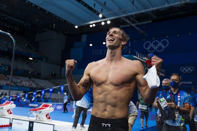 Jérémy Desplanches schreibt Schweizer Schwimmsport-Geschichte.
