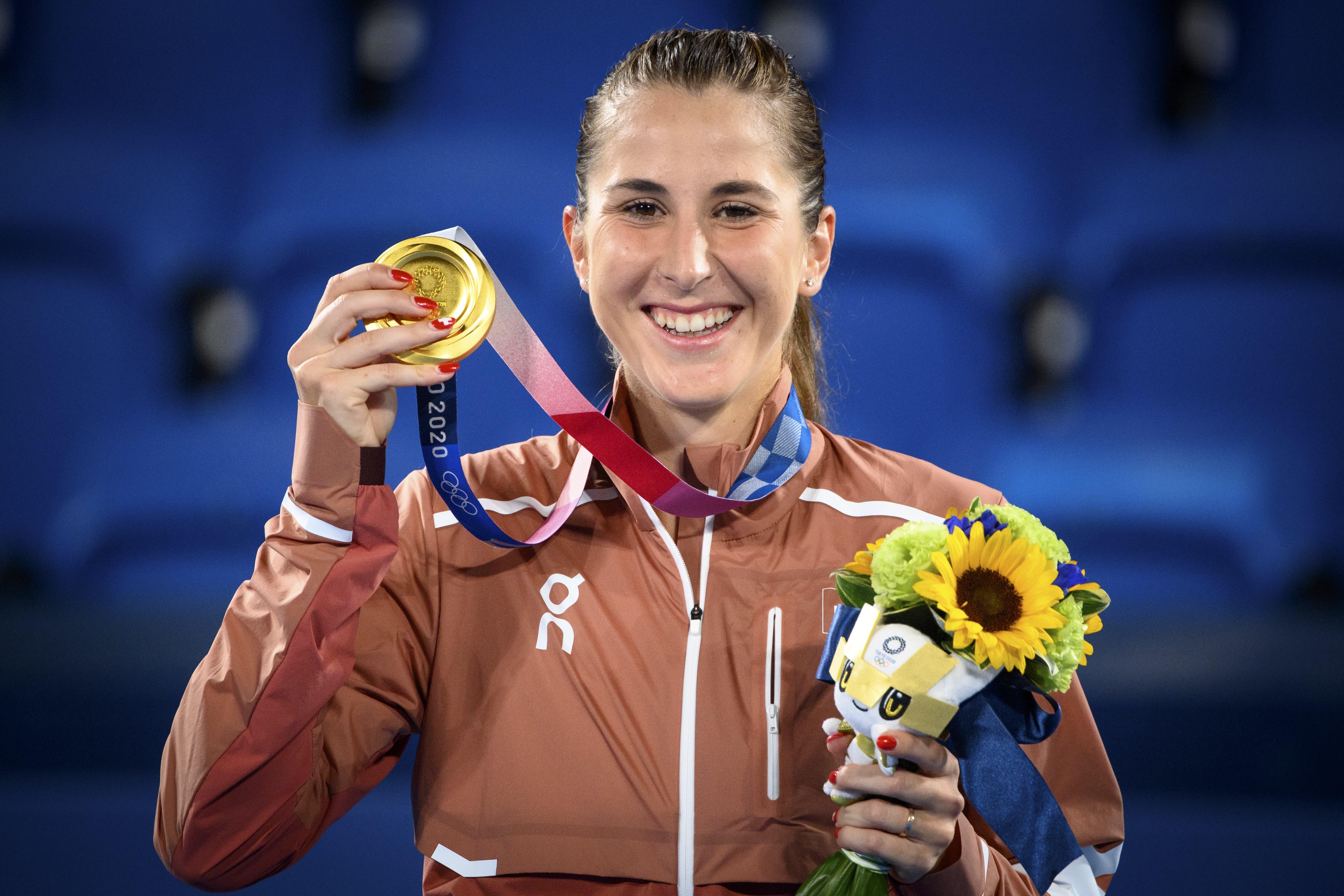 Die langersehnte Olympia-Goldmedaille.