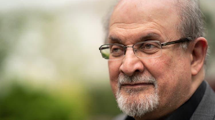Auch nach Jahren mit Morddrohungen wegen seines Romans «Die Satanischen Verse» lässt sich Salman Rushdie Engagement und Humor nicht nehmen. (David Levenson / Getty Images Europe)