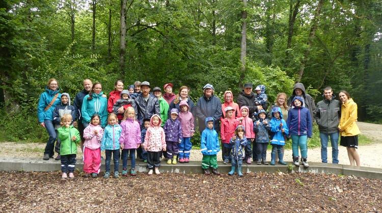 Familienclub Aarburg – Abschlussfest Waldspielgruppe Eichhörnli