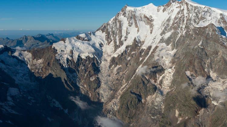 Die zwei Frauen sind beim Gebirgsmassiv Monte Rosa erfroren. (Symbolbild: Keystone)
