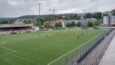 Die Partie wurde im Stade de la Charriére gespielt. (Benjamin Netz)