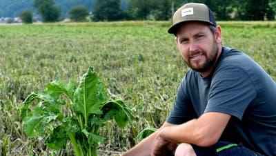 Landwirte haben teilweise einen Totalausfall der Ernte, so auch RetoFankhauser