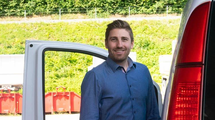 Michi Stöckli, Geschäftsführer bei der Stöckli AG in Bremgarten. (Dominic Kobelt)