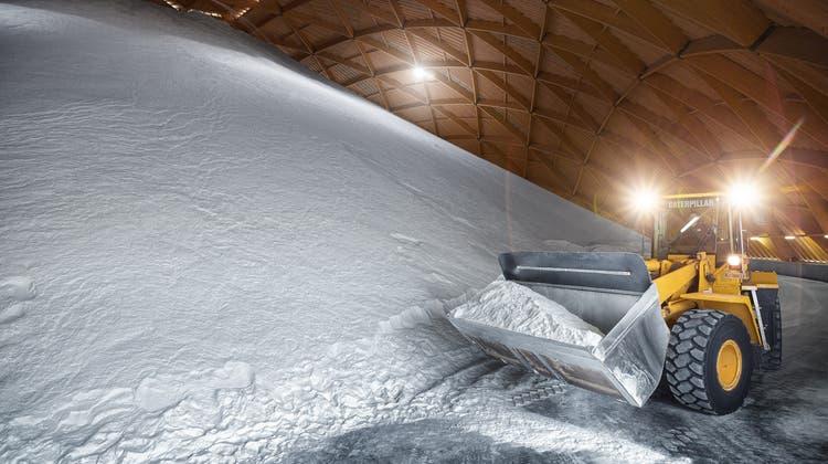 In Schweizerhalle befindet sich die einzige Saline der Schweizer Salinen AG im Baselbiet. (Bild: zVg)
